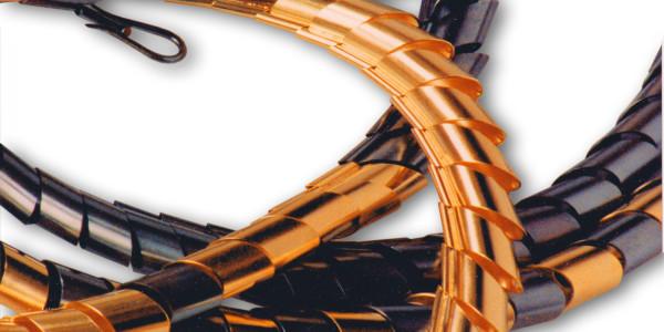 Halsschmuck, Gold 750/ooo; Silber oxidiert